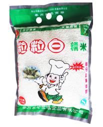 优质糯米-粒粒白糯米